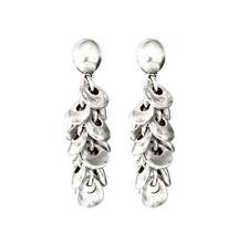 NWT NEW Como Los Chorros Uno de 50 SPANISH Silver Earrings PEN0306MTL RETIRED