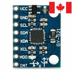 MPU-6050 MPU6050 3 Axis gyroscope+accelerometer module(3V-5V) Arduino. Canada