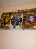 World of Warcraft The Burning Crusade Expansion Set With Lich King goty edition