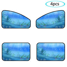 4pcs Magnetic Car Window Sun Shade Auto Visor Shield Curtain Cover summer cool