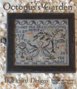 Octopus Garden by Blackbird Designs cross stitch pattern