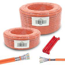 Cat7 Netzwerkkabel Verlegekabel Simplex Duplex Cat 7 Kabel 25 50 100 150 200 300