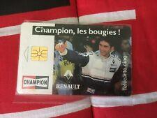 carte téléphonique télécarte renault champion de 5 unités  12/94