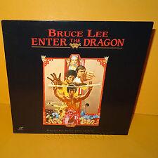 1993 BRUCE LEE ENTER THE DRAGON REMASTERED WIDESCREEN LASER DISC LASERDISC NTSC