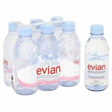Evian Natural Mineral Water 6 x 330ml
