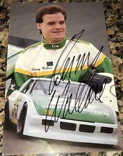 Kenny Wallace 1990 COX LUMBER PONTIAC #36 NASCAR BUSCH SERIES signed 8x10 photo