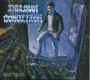 INHUMAN CONDITION-RAT°GOD-DIGIPAK-LIMITED EDITION + BOOKMARK-death metal