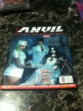 anvil magazine issue #1 dimmu borgir cover w/cd extreme metal