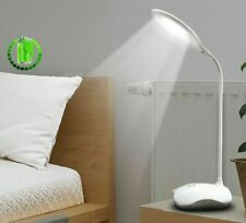 LED Desk Lamp USB Charging Table Lamps 14 Torch Light Bed Night Light 3 Mode New