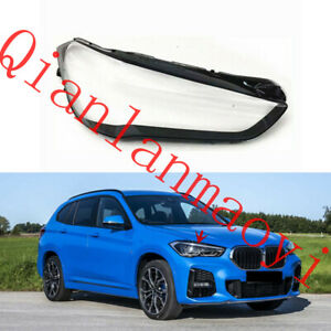 Right Side Clean Headlight Cover With Glue For BMW F49 X1 2020-2021