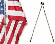 Flag Spreaders for Indoor Flag Pole For Displaying of Flag