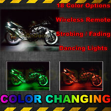 Can-Am Spyder F3-S F3-T RS-S RT-S Led Neon Accent UnderGlow Motorcycle Light Kit