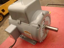 Baldor 3hp Single Phase 1140 Rpm 215 Frame Electric Motor