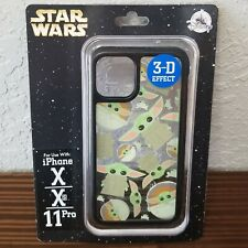 Disney Parks Star Wars Baby Yoda iPhone X/Xs/11Pro Case 3D Effect The Child