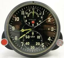 ⭐SERVICED⭐ AChS-1 Russian USSR Military Air Force Aircraft Cockpit Clock MIG/SU