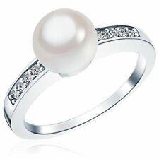 Pearl Shell Cubic Zirconia Fashion Jewellery