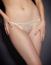 Agent Provocateur GLORIA Thong S/2 NWT Nude Orig. $130 RARE! Bridal!