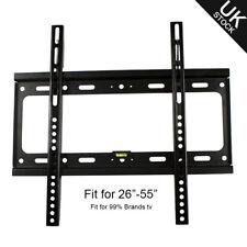 LCD LED Plasma TV Wall Mount Bracket Flat 26 27 30 32 37 40 42 46 47 50 52 55