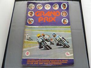 FKS STICKER ALBUM 1977 - GRAND PRIX - 50% COMPLETE - POOR CONDITION