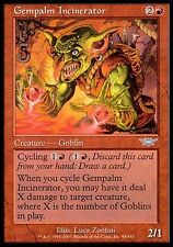1x Gempalm Incinerator Legions MtG Magic Red Uncommon 1 x1 Card Cards MP