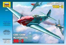 Zvezda - Z4814 Maquette Yak-3 Normandie Niémen