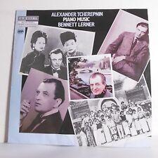 "33T Alexander TCHEREPNIN Bennett LERNER Vinyle LP 12"" PIANO MUSIC -ETCETERA 1033"