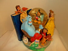 Disney Store Through The Years Volume II Snowglobe Bookend Water Snow Globe