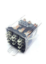 120VAC 15 Amp Relay 3PDT, Ice Cube, Flange Mount w/ .187