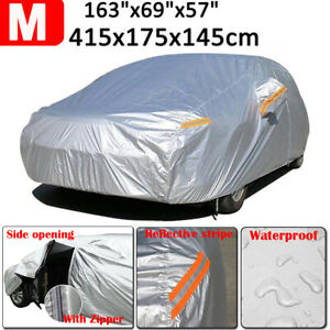 Full Car Cover Waterproof Outdoor Dust Scratch Rain Resistant For Holden Barina