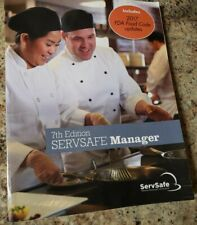 Servsafe Manager 7th Edition, book with Exam Code 2017
