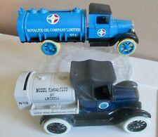 ERTL 1931 1:34 Hawkeye Tanker Bank - Royalite Oil Co. & 1918 Ford Model T