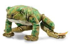 Steiff 'Froggy' Frog - National Geographic Collection - plush soft toy - 056536