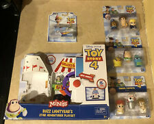 Disney Pixar Toy Story 4 Finger Puppets Bundle Set Rare Caboom Woody Forky Buzz