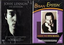 John Lennon - The Messenger (2002,DVD, CD,Booklet) & Brian Epstein: ITFB (DVD)