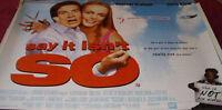 Cinema Poster: SAY IT ISN'T SO 2001 (Quad) Heather Graham