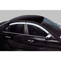 Chrome Window C Pillar Post Quarter 2P For 2001 2006 Hyundai Santa Fe