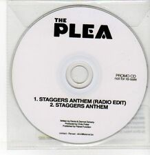 (DQ537) The Plea, Staggers Anthem - 2012 DJ CD