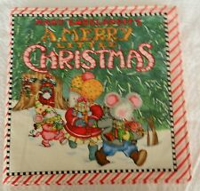 Mary Engelbreit's A Merry Little Christmas  Fabric Book