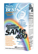 SAMe 400 (double Strength) - SAM-e - Doctor's Best - 400 mg - 60 Tablets