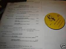 BILLY SQUIER STEVE HACKETT 1981 BBC RADIO LP GENESIS LP