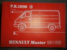 Renault MASTER traction 1981 à 1988 : catalogue pièces PR1090-8