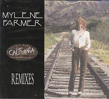 MAXI CD DIGIPACK 6T MYLENE FARMER CALIFORNIA REMIXES DE 1996 NEUF SCELLE