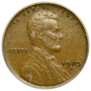 1910-S Lincoln Wheat Cent   ICG EF40 ‐ Scarce, Better Date