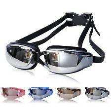 Unisex Adult Non Fogging Waterproof Anti-UV Swimming Goggles Adjustable Glasses