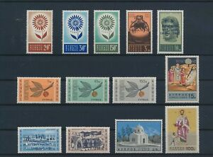 LN52356 Cyprus Europa Cept church art religion fine lot MNH