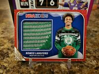 🔥ROMEO LANGFORD NBA HOOPS ROOKIE 2 COLOR CHRISTMAS SWEATER PATCH BOSTON CELTICS