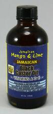 Jamaican Mango & Lime Black Castor Oil Vitamin A,D and E Soft Dry Hair Scalp 4oz