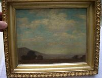 Fine EUGENE SPEICHER Small LANDSCAPE Painting-Canvas on Board-Framed-NR!