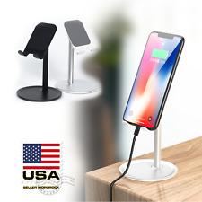 Adjustable Holder Mount Universal Tablet Phone Stand Desktop Mobile iPad iPhone