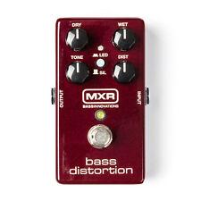 Mxr M85 Bass Distortion Bass Effects Pedal - New